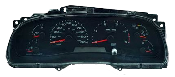 2007 chevy tahoe instrument cluster replacement